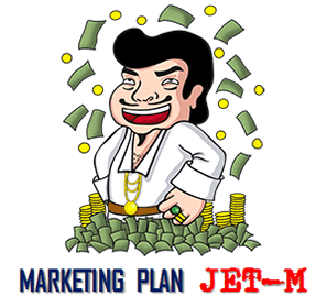 marketing plan mlm jet-v dan jet-m